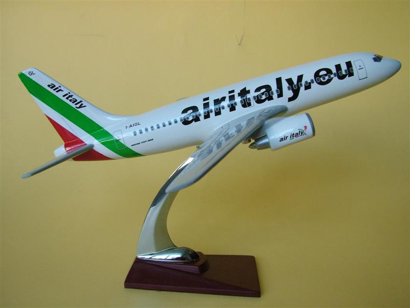 供应b737意大利航空飞机模型