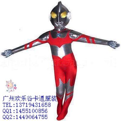 儿童手工制作超人机器人服装
