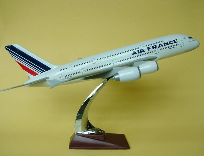 供应A380法航飞机模型批发