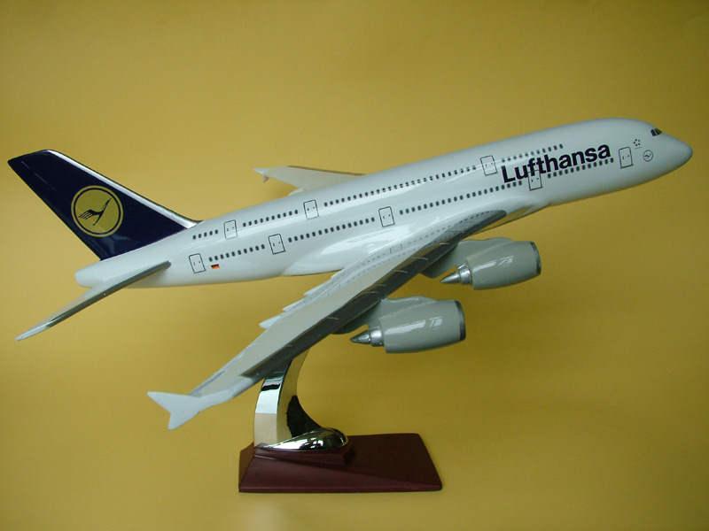 a380汉莎飞机模型图片