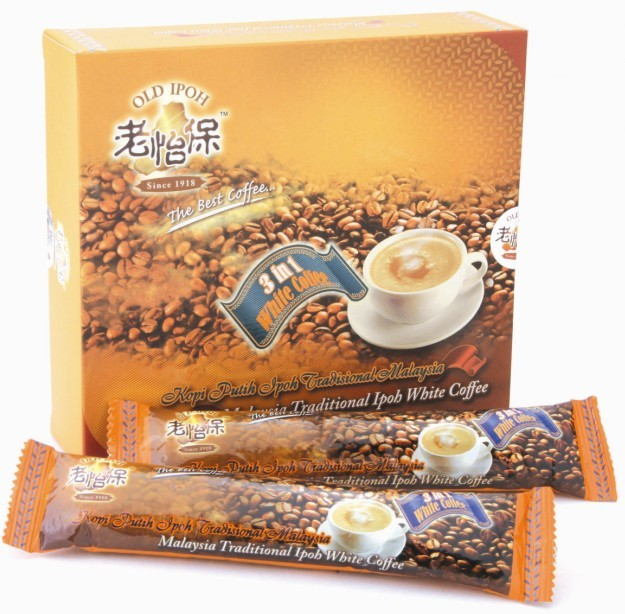 供应老怡保3合1白咖啡原味