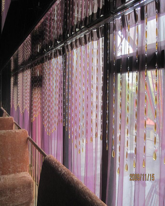 江西南昌水晶珠帘玄关隔断效果图生产供应商 供应水晶珠帘玄关隔断效高清图片