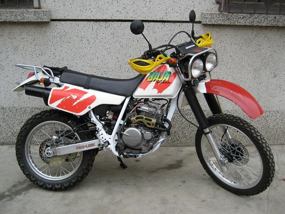 供应92年本田baja250越野摩托车