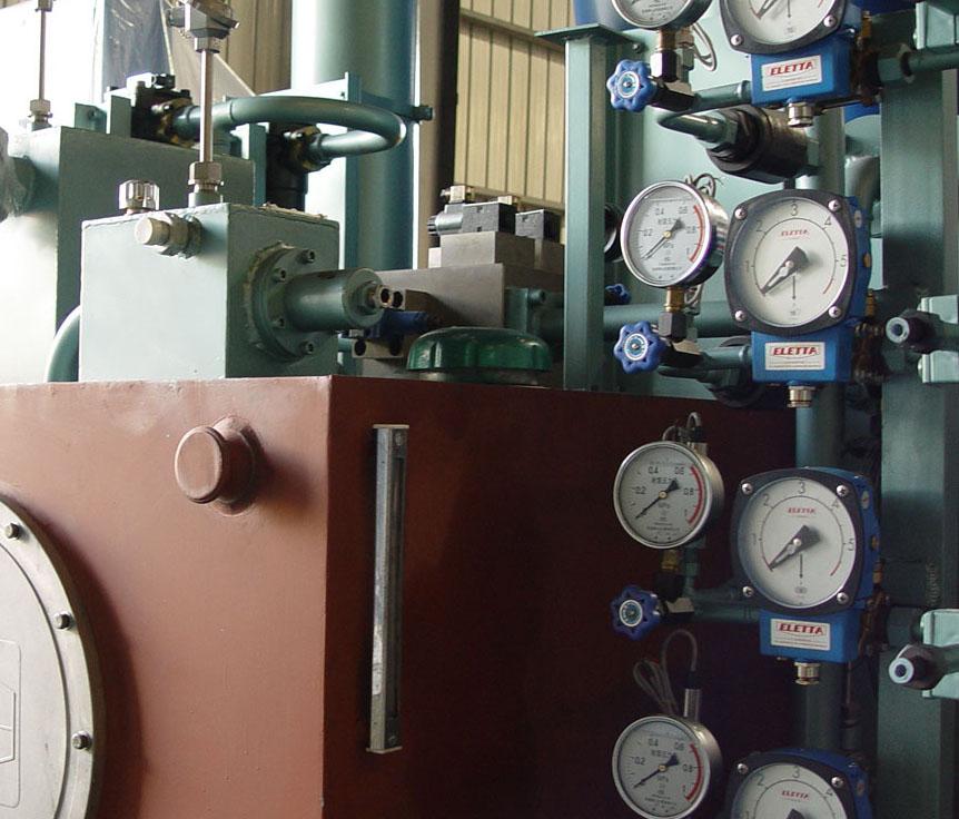 供应粉末自动成型机液压系统图片图片
